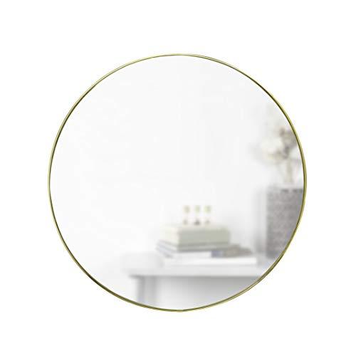 Umbra Hubba Mirror Espejo Redondo 86 cm Borde Metal