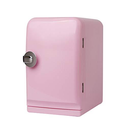 Auto Kühlung und Erwärmung Mini-Kühlschrank, tragbare Eisbox Travel Box, 5L 12V-Kühler und Wärmer Kühlschrank Heizung Lebensmittel Elektro-Mini-Kühlschrank für Haus, Büro, Auto -