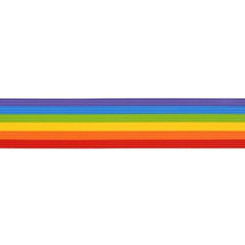Wachsstreifen / Verzierwachs im Set 'Regenbogen' (30 Stück / 20 cm x 1 mm) TOP QUALITÄT