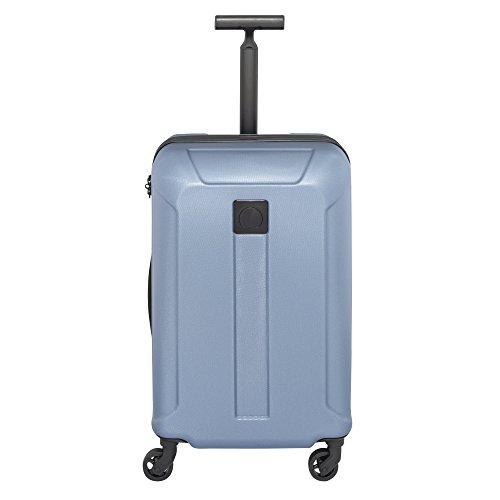 Delsey Exception valigia da cabina a 4 ruote 55 cm blau