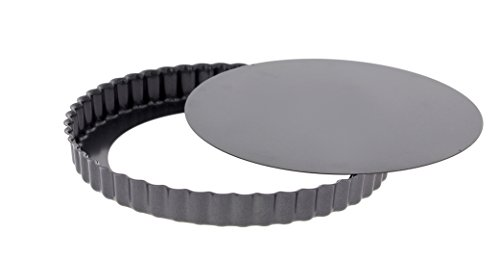 DE BUYER Tortenform, Edelstahl, grau, 19.4 x 19.2 x 2.8 cm