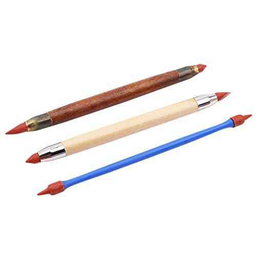 Jixing 30 PCS Clay Sculpting Werkzeuge Keramik Carving Tool Set Hohe Qualität Durable Holzgriff Carving Tool-beinhaltet Lochschneider, Color Shaper, Kugelschreiber & Holzskulptur Messer