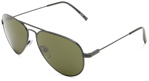 Jason Black Frame (Electric AV1 Small Sunglasses Black ~ M Grey)