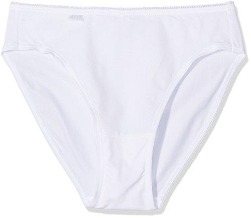 Sloggi Damen Taillenslip 24/7 Micrfib TAC3, 3er Pack, Weiß (White 03), 42