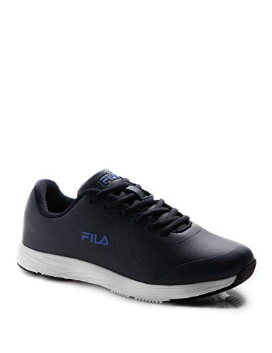 Fila Kids Memory Shadow LTH Lace Running Shoes Navy in Size 40