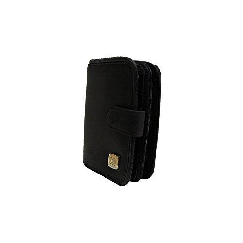 Portefeuille porte-monnaie cuir noir Arthur et Aston 1166-123 - Noir