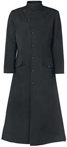 Gothicana by EMP Dark Coat Cappotto nero XL