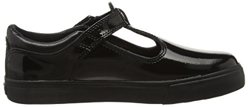 Kickers Tovni T Youth, Baskets Basses Fille Noir