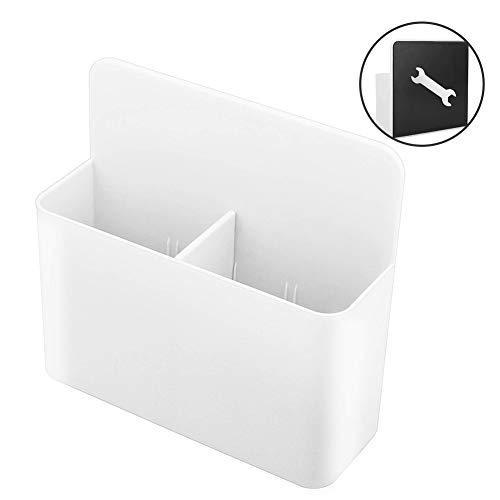 Magnetischer Stifthalter,XCOZU Whiteboard Marker Magnetisch Halter für Whiteboard Kühlschrank Spind und Andere Magnetische Oberflächen,Whiteboard Stifte Halter Magnet Aufbewahrung Halter Weiß