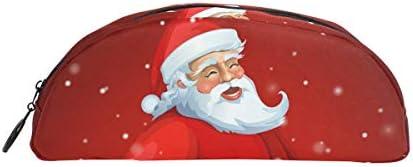 guides de Trousse de Noël Nuit Kindly Père Noël Pen papeterie Pouch Sac avec fermeture à glissière Maquillage pour enfants filles garçons | Une Forte Résistance à La Chaleur Et Résistant à L'usure