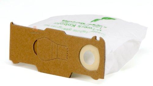 DREHFLEX - 18 Staubsaugerbeutel aus Vlies passend für Vorwerk - Kobold 130/131 / 131SC / VK130 / VK131 - DREHFLEX