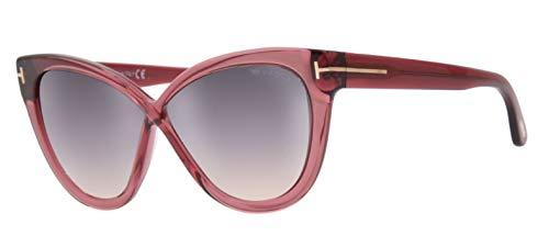Tom Ford Damen Sunglasses FT0511 5969B Sonnenbrille, Pink, 59