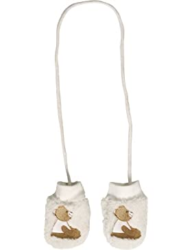 Playshoes Unisex - Baby Fäustling Kuschlige Teddyfleece-Handschuhe, Art. 422012 (passend zum Fleece-Anzug 421001)