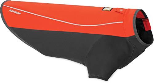 Ruffwear Wasserdichte Hunde-Jacke mit Fleece-Innenfutter, Sehr große Hunderassen, Größe: XL, Rot (Sockeye Red), Cloud Chaser, 05103-601L1