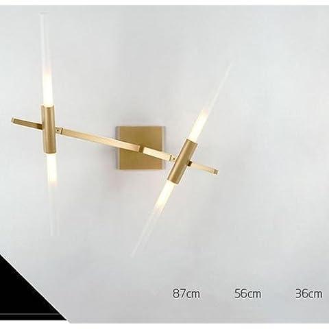FWEF cristal botón árbol ramas pared lámpara Simple moderno arte creativo ambiente lámparas dormitorio personalidad dendrítica iluminación aplicable metros cuadrados de espacio 5-15 . 2