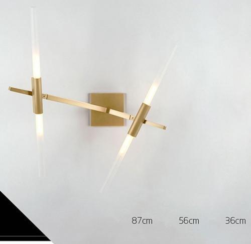 FWEF vetro pulsante albero rami parete lampada semplice moderna arte creativa atmosfera lampade camera da letto personalità dendritica illuminazione applicabile metri quadri di spazio 5-15 . 2