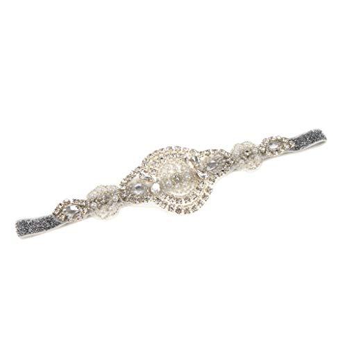 perfeclan 20er Vintage Flappers Stirnband Haarband Haarschmuck, Charleston/Gastby -