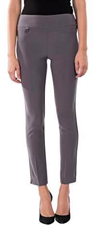 Joseph Ribkoff Ankle Length Wide Waistband Tailored Pant Zipperless - Style 144092