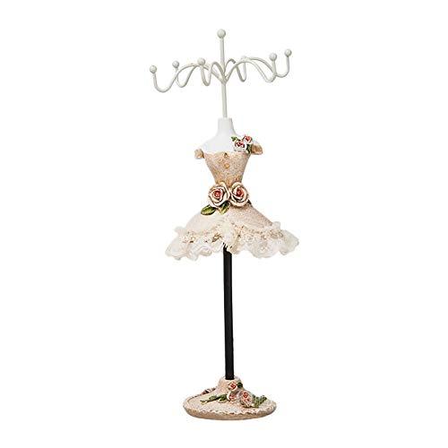 Demarkt Schmuckständer Mode Prinzessin Kleid Form Schmuck Display Schmuckablage Kettenständer Ohrringhalter Modepuppe Schmuckhalter Schmuckständer