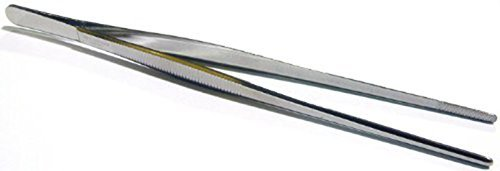 adecco-llc-stainless-steel-tongs-tweezer-with-precision-serrated-tips-for-surgical-sea-food