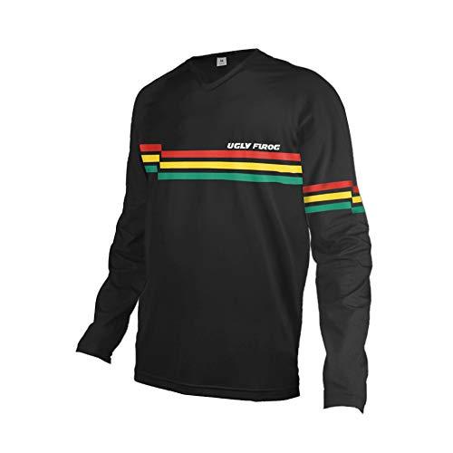 Uglyfrog Element Jersey RACEWEAR Trikot Moto Cross Mountain Bike Enduro MTB Farbkollision Rennrad Bekleidung Winter Thermo Downhill Shirts