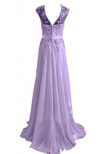 Sunvary Romantic Bateau collo, da donna, per abiti da sera, abiti per bambini Pageant Lilac