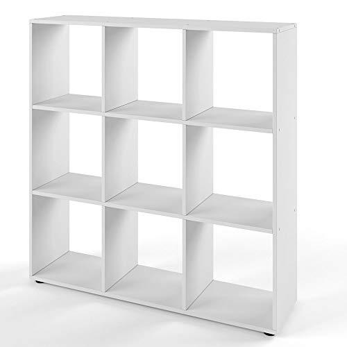 VICCO Bücherregal NOVE 9 Fächer Raumteiler Aktenregal
