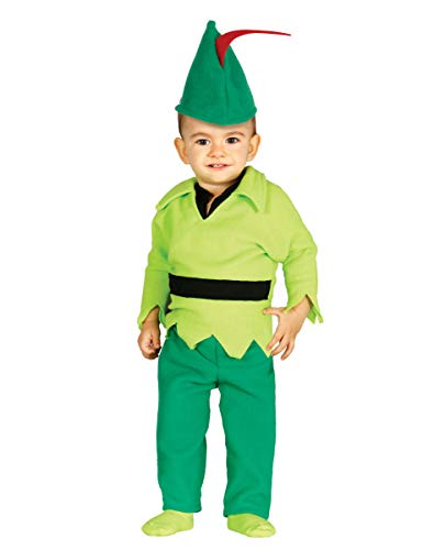 Märchen Kostüm Kinder - Babykostüm Bogenschütze Kostüm für Kinder Mittelalter Märchen Fasching Gr. 74 - 92, Größe:86/92