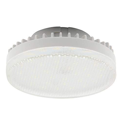 BQHY GX53 LED Glühbirne AC220V Gx53 LED Puck Licht 7W Warmweiß 2700K Ersatz Traditionelle Halogen CFL GX53 Spotlight (nicht dimmbar) für Kabinett, Deckenleuchte, 2er Pack (Warmweiß) - 7w Cfl