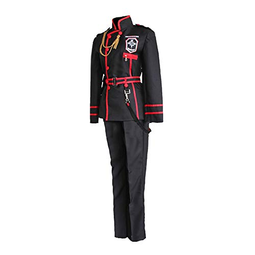 qingning Gray Mann Cosplay Uniform Allen Walker Schule Mantel Halloween Kostüm ()