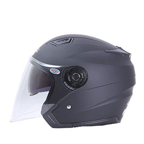 rsal Doppel Objektiv Motorradhelm Anti Fog Regen Proof Mountainbike Motocross Schutzkappen Stoßfest Roller Elektrische Motorrad Helm ()
