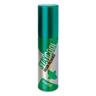 Mundwasser Minze Geschmack (STAYCOOL Mundspray - Extra Frischer Atem (Spear Mint, 5er))