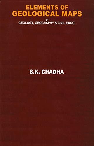 Elements Of Geological Maps por S. K. Chadha Gratis