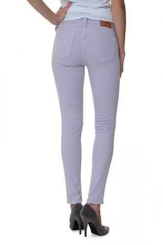 True Religion Jeans Skinny HALLE HIGHER RISE SKINN, donna, Colore: Lilla, Taglia: 28
