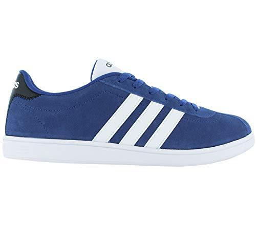 adidas VL Court Sneaker Bleu Chaussures Homme Baskets Top