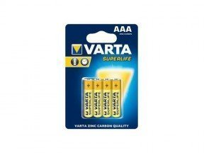 Batterie Varta Superlife R03 Micro AAA (4 St.)