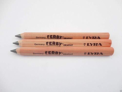3x Puerto de Lyra Triangular Jumbo Grueso Lápices Escritura Aprendizaje Arte Preescolar