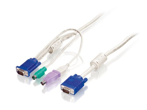 Kabel Hdb15 (Digital Data ACC-2102 PS2 USB Kabel für KVM 3m)