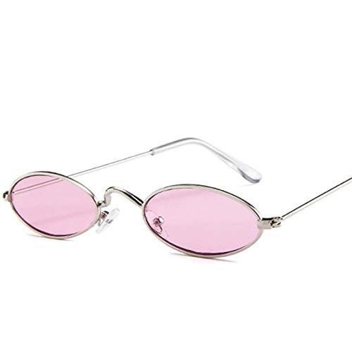 CCMOO 90s Oval Sonnenbrille Kleine Runde Für Frauen Getönte Rote Männer Brillen Damen intage Brillen Gelb Eyewear-4