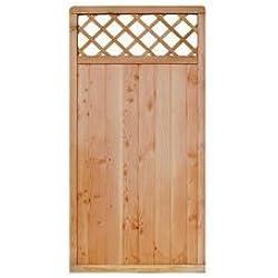 Sichtschutzzaun Holz Douglasie 89 x 179 cm