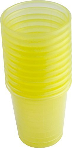 80-pieces-medication-cup-medicine-cups-schnapps-cup-premium-various-colours-from-medi-inn-yellow