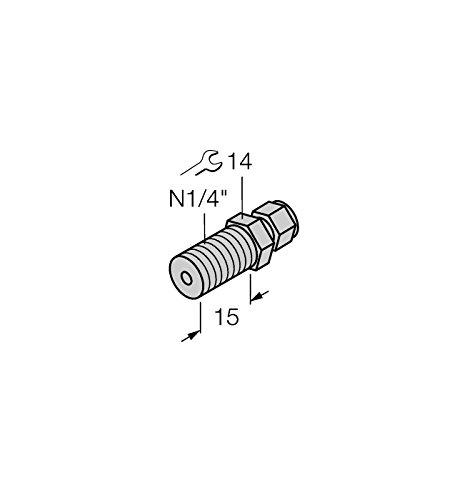 Kit d'accessoires 3N1/4de détection de A4, température de 9910408-cf M Anneau de serrage Raccord
