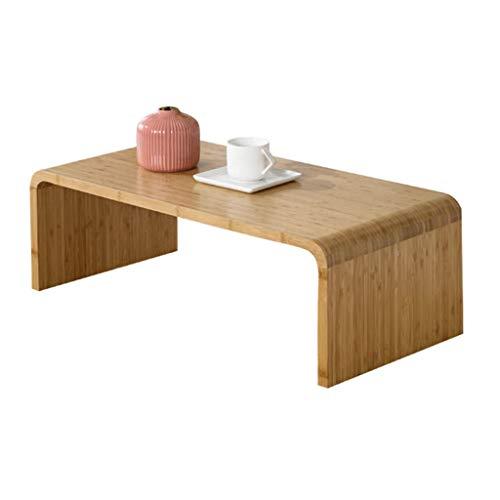 Tables basses Table à Manger Table à Manger Table à Manger Petite Table en Bois Massif Balcon Tatami (Color : Beige, Size : 71 * 36 * 27cm)