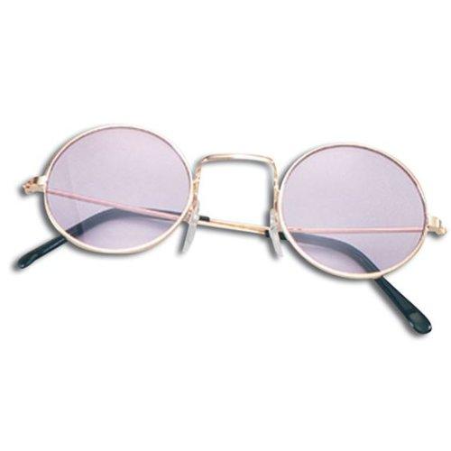 Kinder Mädchen Jungen Kostüm Hippie rund Lennon Sonnenbrillen