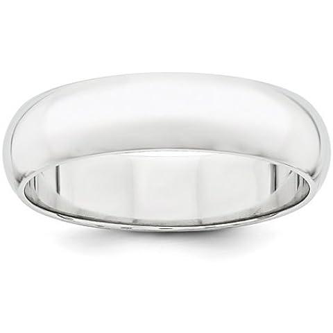 Icecarats Designer Di Gioielli In Platino Dimensione 8 5 Millimetri Semicircolare Anello Band Di Nozze - 8 Millimetri Platinum Wedding Band