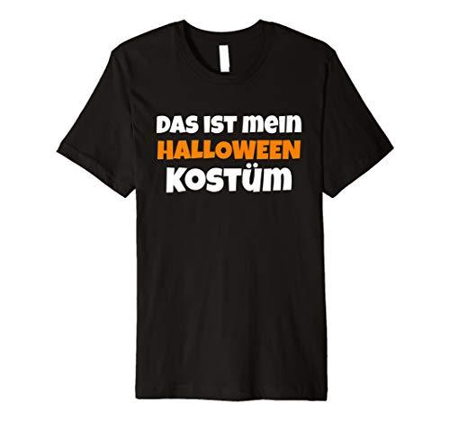 (Das Ist Mein Halloween-Kostüm T-Shirt Geschenk)