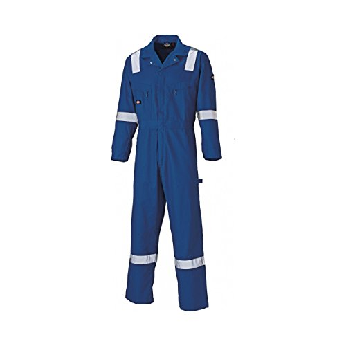 Dickies - Tuta leggera da lavoro in cotone (gamba regolare) - Uomo (XXXL) (Blu navy)