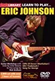 Learn To Play Eric Johnson (2 DVD Set) - 2DVD