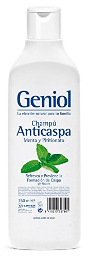 Geniol Shampoo, Antidandruff Mint, 750 ml