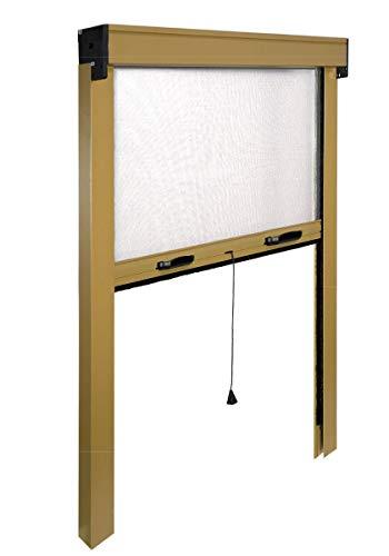 Iris irs zv06108017062 zanzariera avvolgibile verticale, bronzo